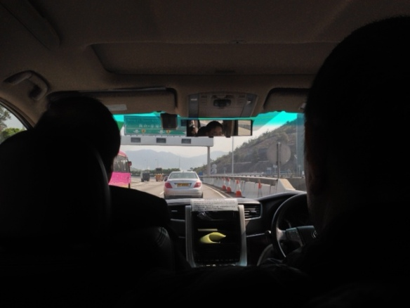 On the road to Shenzen.